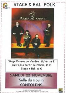 Le groupe Arbadétorne