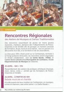 Rencontres régionales