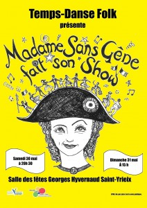 affiche Madame Sans-Gêne-2 (petite)
